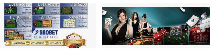 berbagai macam judi live casino sbobet