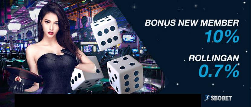 bonus yang diberikan saat bermain judi live casino sbobet